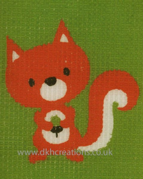 Little Squirrel Tapestry Kit